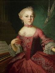 Maria Anna Mozart (Lorenzoni)