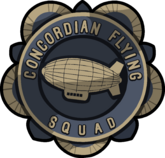 Logo of the Concordian Flying Squad