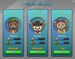 Police Pets of Rhine Canyon