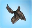 Dark Silk Scarf