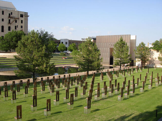 File:Oklahoma City Memorial Chairs.jpg