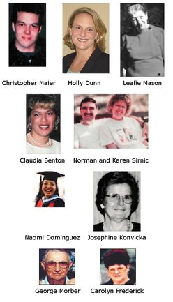 Resendiz's victims