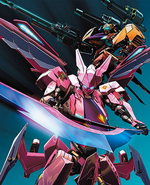 Cross Ange DVD Vol. 4 Concept Art