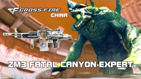 CF China M249 SPW Urban in ZM3 Fatal Canyon