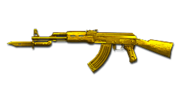 AK Knife Gold