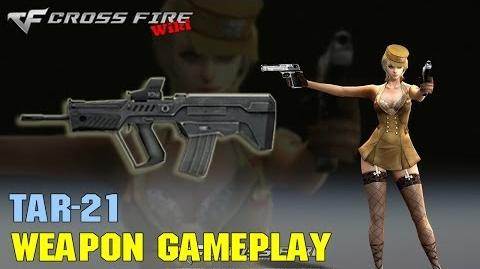 CrossFire - TAR-21 - Weapon Gameplay