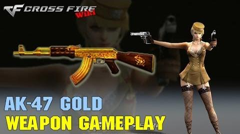 CrossFire - AK-47 Gold - Weapon Gameplay