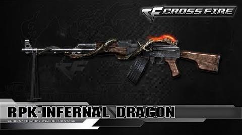 CrossFire Vietnam RPK-Infernal Dragon ☆