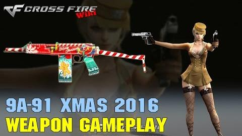 CrossFire - 9A-91 Xmas 2016 - Weapon Gameplay