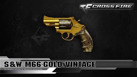 CrossFire Vietnam 2.0 - S&W M66-Gold Vintage ☆