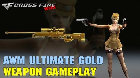 CrossFire - AWM Ultimate Gold - Weapon Gameplay