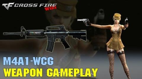 CrossFire - M4A1 WCG - Weapon Gameplay