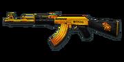 RIFLE AK-47-Gold Lenovo