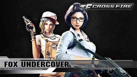 CrossFire Character Fox-Undercover ☆