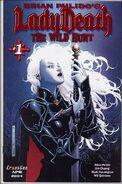 Brian Pulido's Lady Death The Wild Hunt Vol 1 1-B