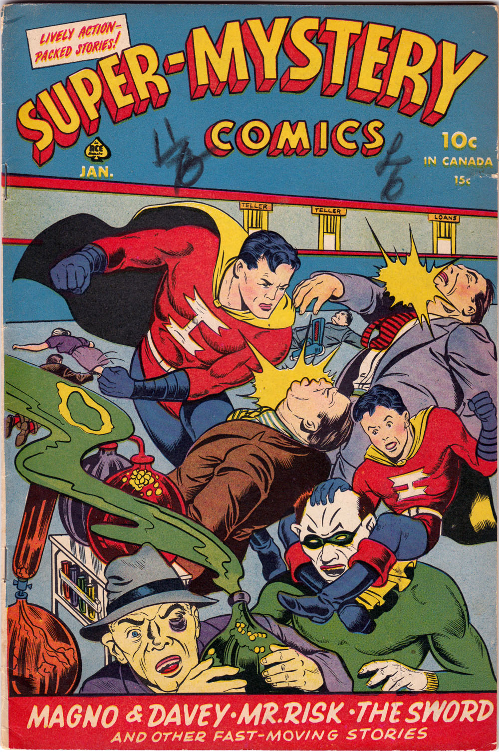supermystery comics vol 4 5 hey kids comics wiki