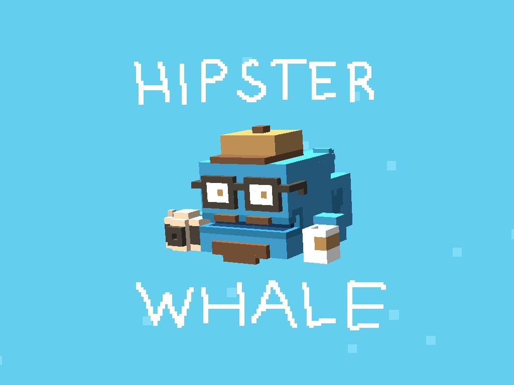 comment avoir la hipster whale dans crossy road