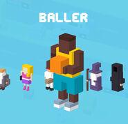CrossyRoad Portrait Baller