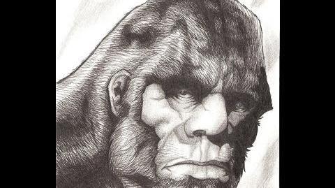 Patterson Gimlin Creature Frame 352 A Dredfunn Time Lapse Pencil