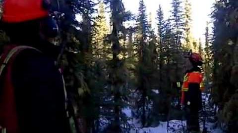 Strange sounds in Conklin, Alberta Jan. 12 2012