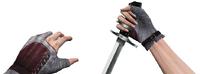 Knife viewmodel woman