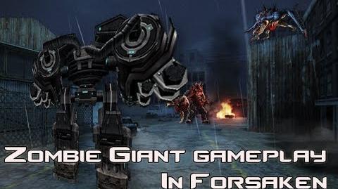 Counter-Strike Online - Zombie Giant Gameplay(Forsaken)