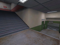 De stadium cz0026 Stairwell-near the CT Spawn zone