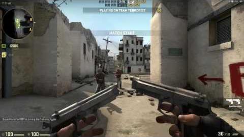 Weapon Demonstration - Dual Berettas (Terrorist)