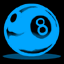 File:8ball1 ltblue.png