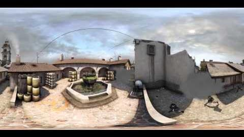 360 Video - Counter Strike Global Offensive, Inferno, B