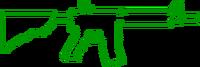 M4a4 hud outline