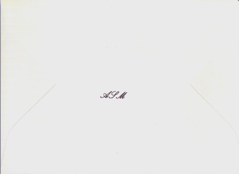 Soiree Envelope Back