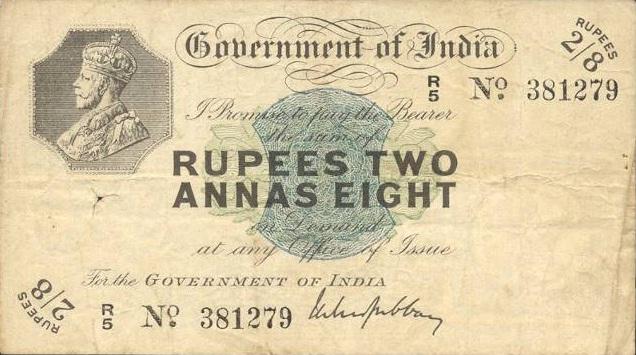 Burmese 2 Rupee 8 Anna Banknote Currency Wiki Fandom