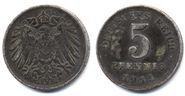 5 Pfennig coin Deutsches Reich 1915