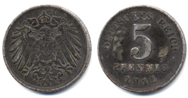 File:5 Pfennig coin Deutsches Reich 1915.jpg