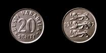 Estonia 20 senti 1997