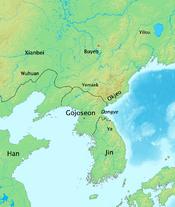 History of Korea-108 BC