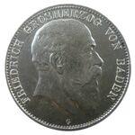 5 Mark Baden 1903 Friedrich I