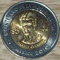 Vicente Guerrero 5 peso coin 2010.jpg