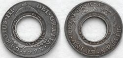 Holey dollar coinage NSW 1813 a128577