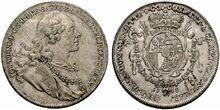 Liechtenstein thaler 1758