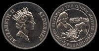 Elizabeth the Queen Mother 1995