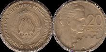 Yugoslavia 20 dinara 1963