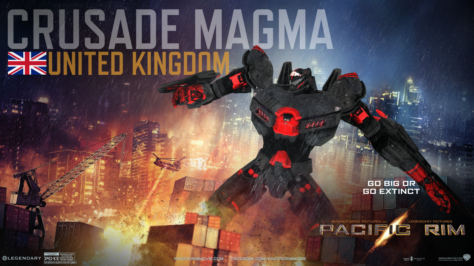 Crusade Magma | Custom Pacific Rim Wiki | FANDOM powered ... Pacific Rim Eden Assassin
