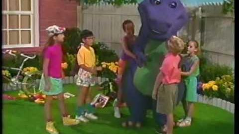 video barney the backyard gang three wishes 1989