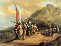 Van Riebeeck's arrival