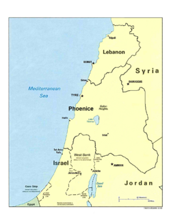 Phoenice current map