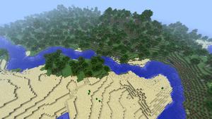 Minecraft River