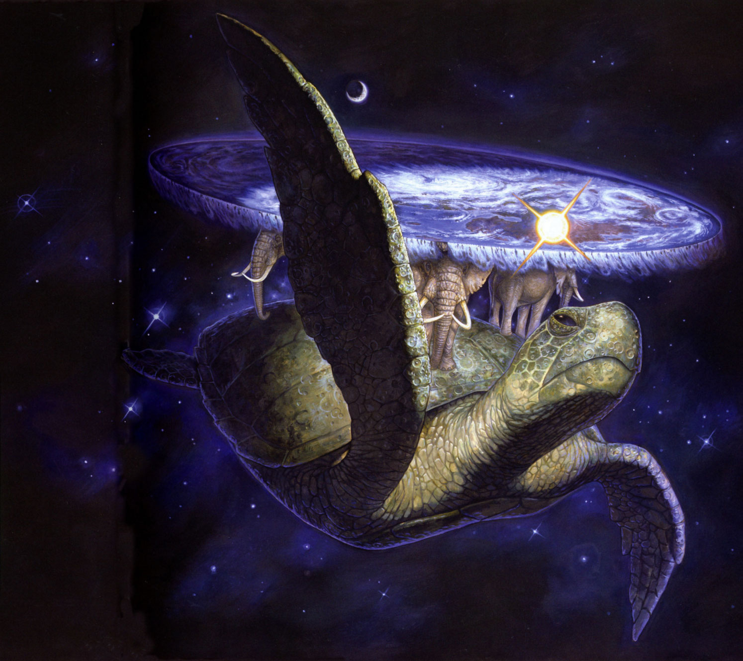 Image result for a'tuin