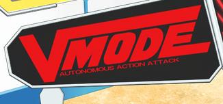 V-mode logo